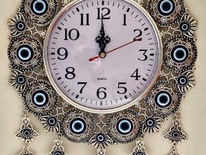 Evil-eye clock