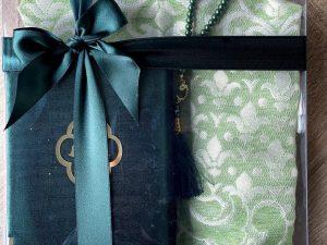 green quran gift set