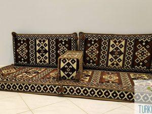 Floor Cushion Set - Brown